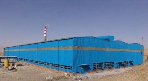 کارخانه فولاد ازنا ۹۰ درصد پیشرفت فیزیکی دارد