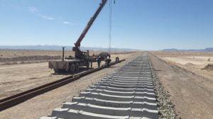 پایان ریلگذاری خطآهن خاش-زاهدان با ریل ذوب آهن