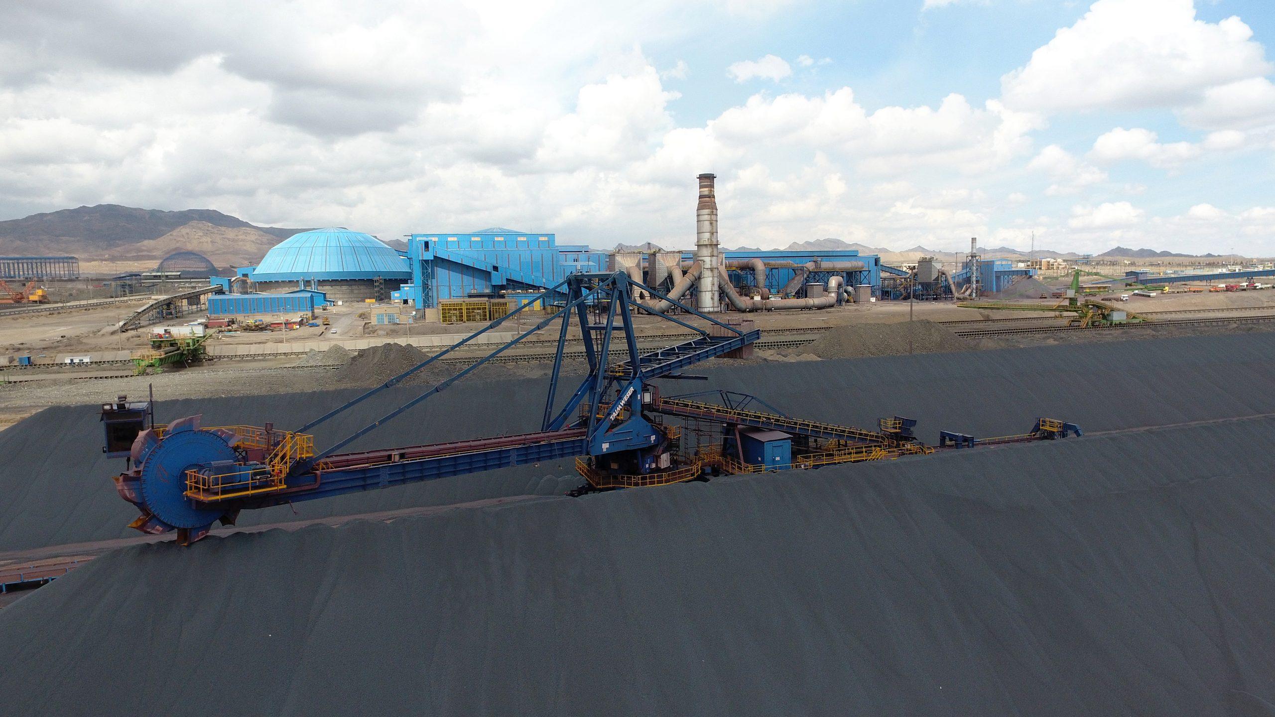 فولاد سنگان رشد ۶۵ درصدی تولید گندله در سه ماه ابتدایی سال جاری را محقق ساخت