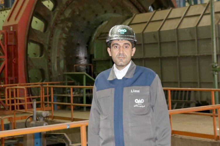 بالاترین رکورد تولید ماهیانه گندله در فولاد سنگان ثبت شد