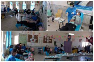 ارائه ۲۷۴۴ مورد خدمات درمانی رایگان به ۱۱۷۸ مراجعهکننده در روستای قلعهزری
